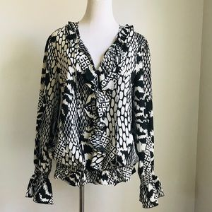 Sioni Blouse Top Large